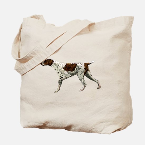german shorthair pointing Tote Bag