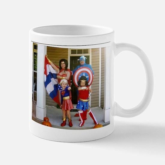 Wonder Woman And Captain America Mug Mugs