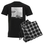 Newtons (no text) Men's Dark Pajamas