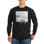 Newtons (no text) Long Sleeve Dark T-Shirt