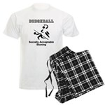 Dodgeball Men's Light Pajamas