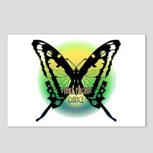 Take Flight Dance by Danceshi Postcards (Package o