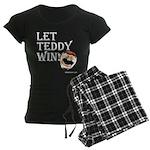 Women's Let Teddy Win Pajamas