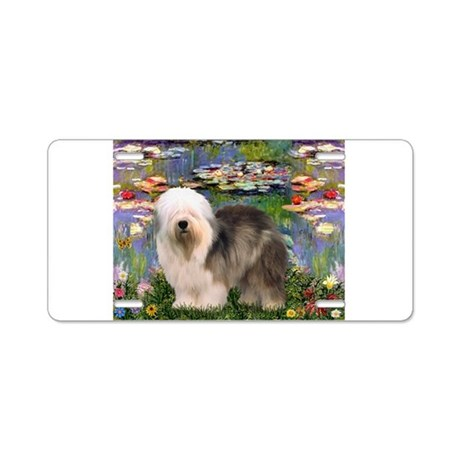 Lilies / OES Aluminum License Plate