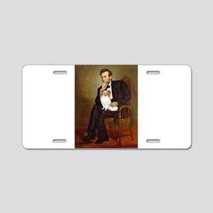 Lincoln's Papillon Aluminum License Plate