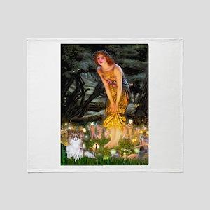 Fairies / Papillon (f) Throw Blanket