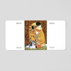 The Kiss/PBGV Aluminum License Plate
