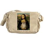 Mona/Pomeranian (#1) Messenger Bag