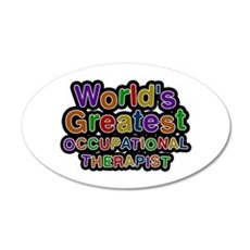World's Greatest OCCUPATIONAL THERAPIST Wall Decal