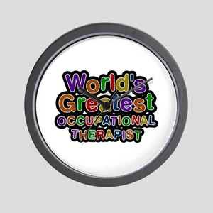 World's Greatest OCCUPATIONAL THERAPIST Wall Clock