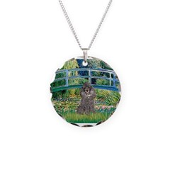 Bridge / Poodle (Silver) Necklace