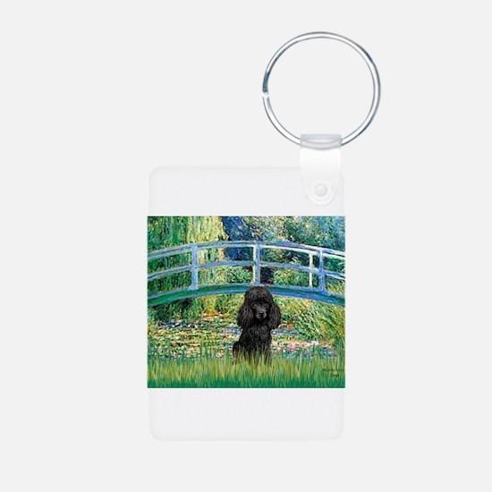 Bridge / Poodle (Black) Keychains