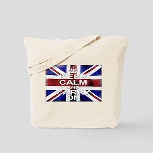 Keep Calm Union Jack Tote Bag