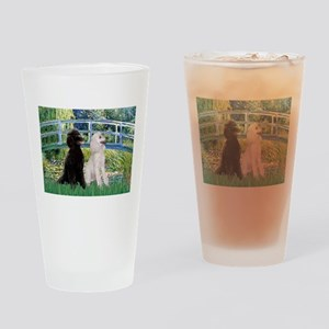 Bridge / Std Poodle (pr) Drinking Glass