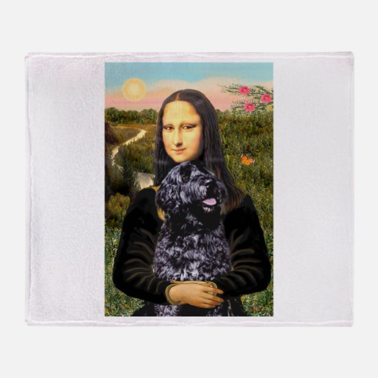 Mona Lisa's PWD (5) Throw Blanket
