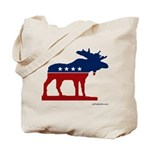 Bull Moose Party Tote Bag (2 Sided)