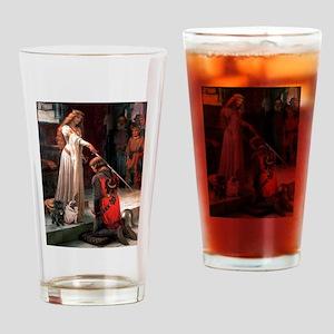 Accolade / 2 Pugs Drinking Glass