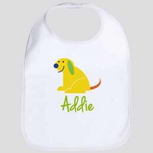 Addie Loves Puppies Bib