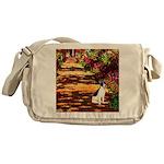 Path / Rat Terrier Messenger Bag