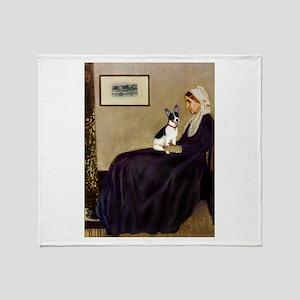 Whistler's / Rat T Throw Blanket