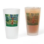 Garden / R Ridgeback Drinking Glass