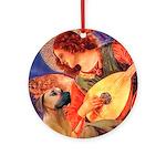 Angel / Rho Ridgeback Ornament (Round)
