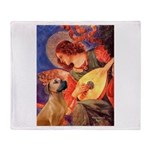Angel / Rho Ridgeback Throw Blanket