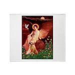 Angel / R Ridgeback Throw Blanket