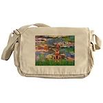Lilies / R Ridgeback Messenger Bag