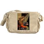 Madonna/Rottweiler Messenger Bag