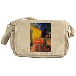 Cafe & Rottweiler Messenger Bag