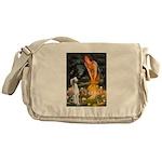 Midsummer's Eve & Saluki Messenger Bag