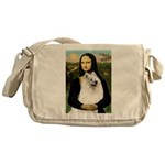 Mona / Samoyed Messenger Bag