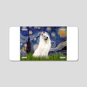 Starry / Samoyed Aluminum License Plate