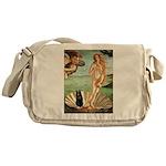 Venus / Schipperke #5 Messenger Bag