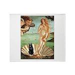 Venus / Schipperke #5 Throw Blanket