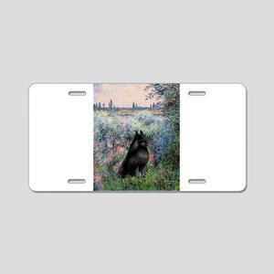 Seine / Schipperke Aluminum License Plate