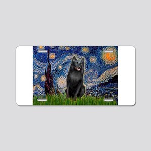 Starry / Schipperke #5 Aluminum License Plate