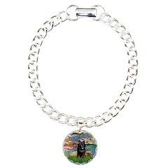Lilies / Schipperke #4 Bracelet
