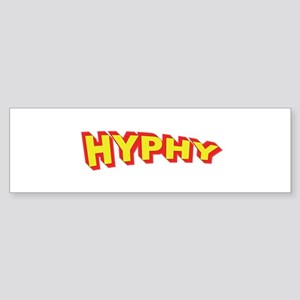 Super Hyphy Bumper Sticker