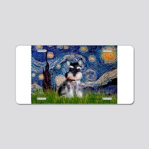 Starry / Schnauzer Aluminum License Plate