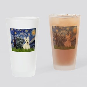 Starry /Scotty pair Drinking Glass