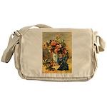 Vase / Scottie (blk) Messenger Bag