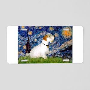Starry Night/Sealyham L1 Aluminum License Plate