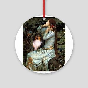 Ophelia / Shelie tri Ornament (Round)