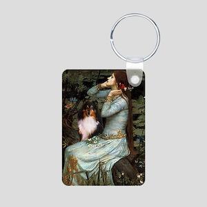 Ophelia / Shelie tri Aluminum Photo Keychain