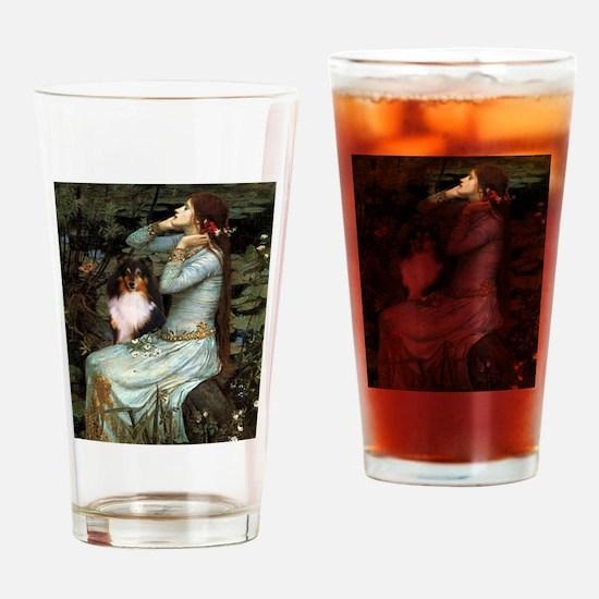 Ophelia / Shelie tri Drinking Glass