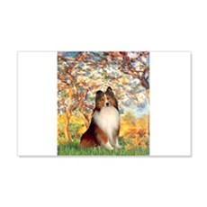 Spring / Sheltie (#1) Wall Decal