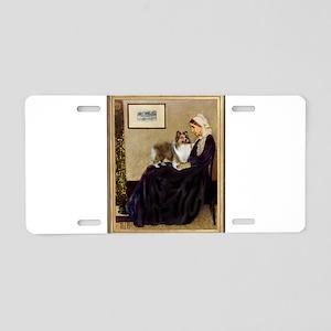 Whistler's / Sheltie Aluminum License Plate