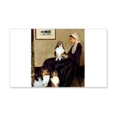 Whistler's / 3 Shelties Wall Decal